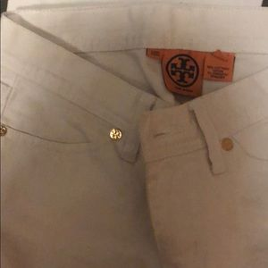 Tory Burch Pants - Tory Burch white jeans
